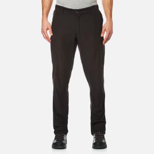 Craghoppers Men's Kiwi Trek Water Repellent Trousers - Black Pepper