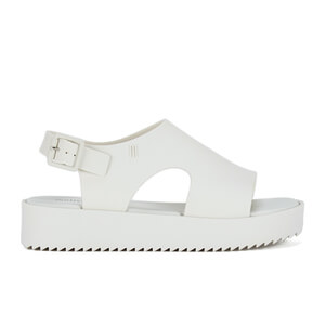 Melissa Women's Hotness Flatform Sandals - White