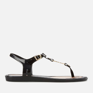 Vivienne Westwood for Melissa Women's Solar 21 Toe Post Sandals - Black Orb