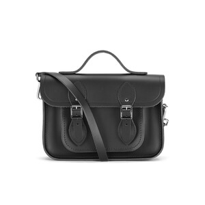 The Cambridge Satchel Company Women's 11 Inch Magnetic Batchel - Black
