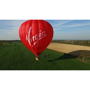 Luxury Christmas Hot Air Balloon Ride Gift Package for One