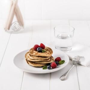 Pancake al mirtillo e lampone (Scatola da 7)