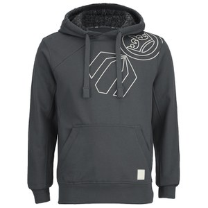Crosshatch Men's Vaztack Print Hoody - Forged Iron