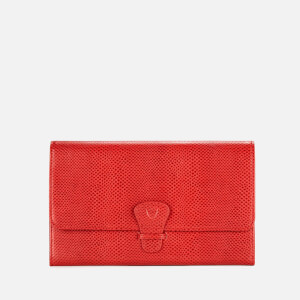 ffda80bf2b3a Aspinal of London Women s Classic Travel Wallet - Berry Red