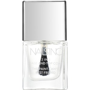 nails inc. Base y capa de acabado 2-en-1 (5 ml)