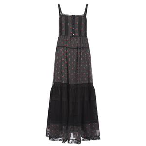 Marc by Marc Jacobs Women's Cherry Pindot Voile Dress - Black