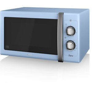 Swan SM22070BLN 900W Manual Microwave - Blue