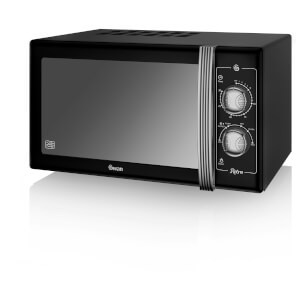 Swan SM22070BN Manual Microwave - Black - 900W