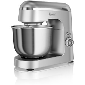 Swan SP25010SN Retro Stand Mixer - Silver