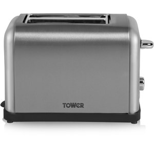 Tower T20002 2 Slice Toaster - Silver