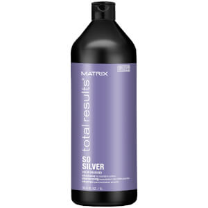 Matrix Total Results So Silver Purple Shampoo for Toning Blondes, Greys and Silvers 1000ml