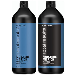Matrix Total Results Moisture Me Rich -shampoo ja hoitoaine (1000ml)