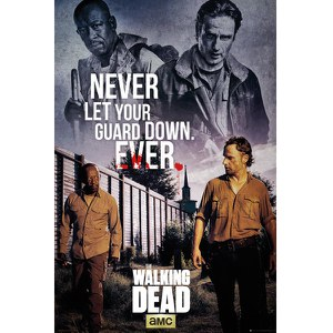 The Walking Dead Rick & Morgan - 24 x 36 Inches Maxi Poster