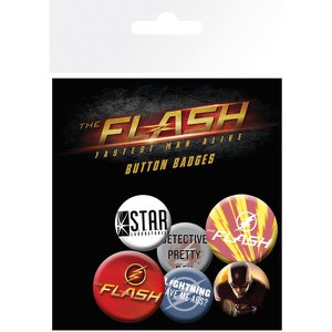 DC Comics The Flash Mix - Badge Pack