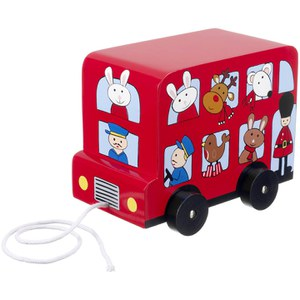Orange Tree Toys London Bus Pull Along