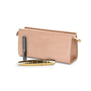 Aspinal of London Women's Small Cosmetic Case - Deer Brown