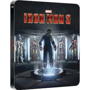 Iron Man 3 - Steelbook Exclusivité Zavvi