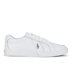 Polo Ralph Lauren Men's Hugh Leather Trainers - White