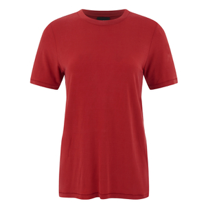 Selected Femme Women's Michelle Short Sleeve T-Shirt - Pompeian Red