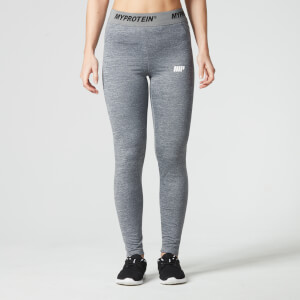 Myprotein Women's Core Leggings - Grey Marl