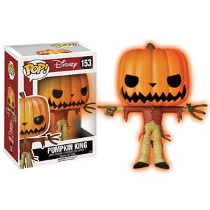 Nightmare Before Christmas  Pumpkin King  Limited Edition Glow in the Dark Pop! Vinyl Figure