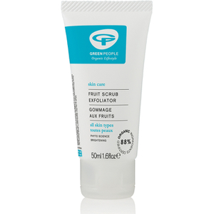 Exfoliante facial afrutado de Green People (50 ml)