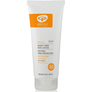 Green People Scent Free Sun Lotion – hajuton aurinkovoide, SPF30 (200ml)