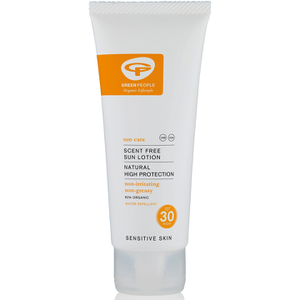 Green People Scent Free -aurinkorasva SPF30 ‒ matkakoko (100ml)