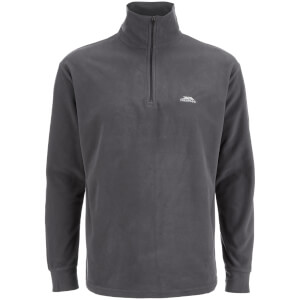 Trespass Men's Masonville Half Zip Fleece Jumper - Flint