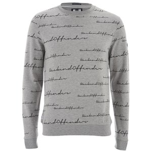 Weekend Offender Men's Dinara Sweatshirt - Grey Marl