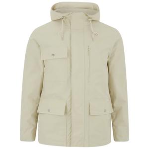 GANT Rugger Men's Fjord Parka Jacket - Off White