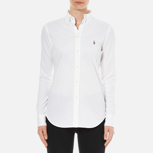 Polo Ralph Lauren Women's Heidi Long Sleeve Shirt - White