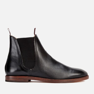 H Shoes by Hudson Men's Tamper Leather Chelsea Boots - Black