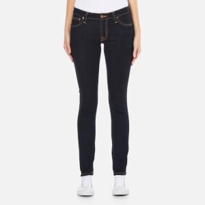 Nudie Jeans Women's Skinny Lin Jeans - Dry Deep Orange
