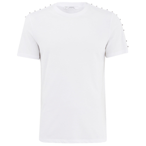 Versace Collection Men's Round Neck T-Shirt - White