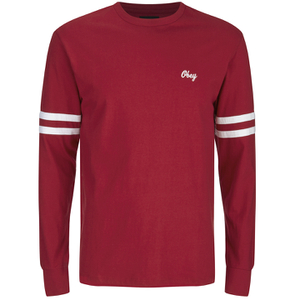 OBEY Clothing Men's Era Long Sleeve T-Shirt - Red