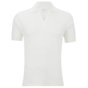 GANT Rugger Men's Vee Polo Shirt - Eggshell