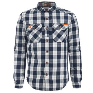 Superdry Men's Rookie Flannel Shirt - Navy