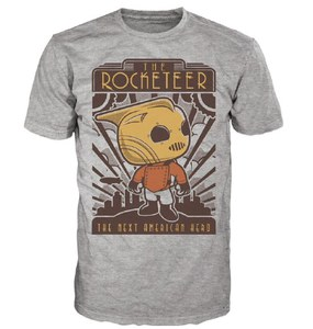 Camiseta Pop! Disney The Rocketeer - Gris