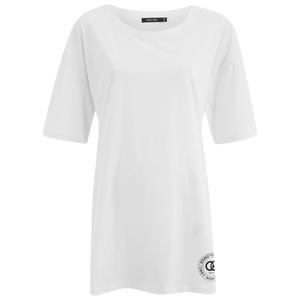 OBEY Clothing Women's Rue De La Ruine Orwell Tunic T-Shirt - White
