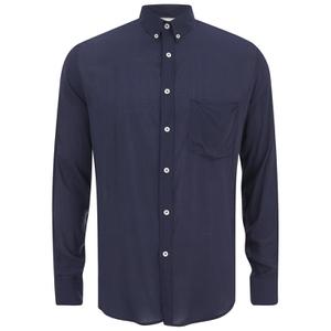 AMI Men's Summer Fit Long Sleeve Shirt - Navy