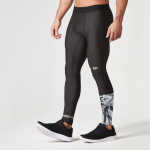 Myprotein Miesten Training Tights - Musta