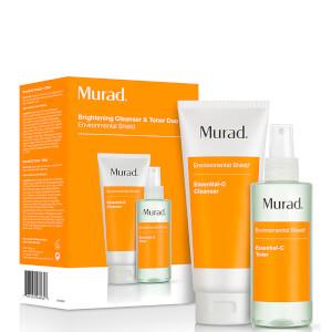 Murad Essential-C CleanserandToner Duo (värt £50)
