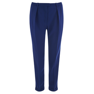 Carven Women's Pantalon Crepe Trousers - Navy