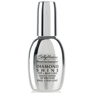 Capa base y esmalte de acabado Diamond Strength Shine Base and Top Coat de Sally Hansen 13,3ml