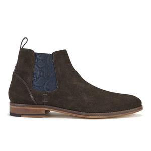 Ted Baker Men's Camroon 4 Suede Chelsea Boots - Dark Brown