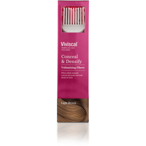 Viviscal Hair Thickening Fibre for Women - Lysebrun