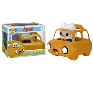 Figurine Pop! Adventure Time Jake Car et Finn