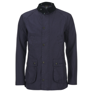Barbour Men's Washed Bedale Jacket - Dark Navy