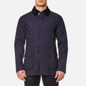 Barbour Men's Washed Bedale Jacket - Dark Navy